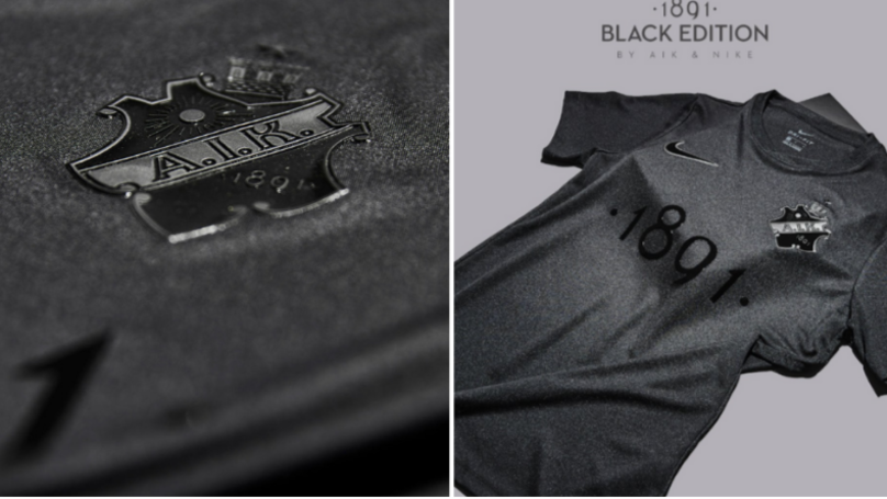 Nike And AIK Have Released A New Gorgeous All Black Kit