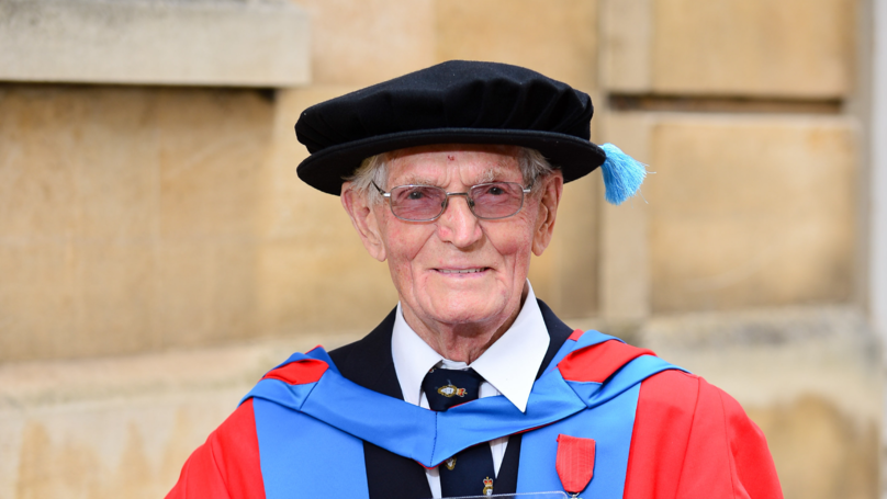 D-Day Veteran Awarded His Second PhD At The Age Of 95