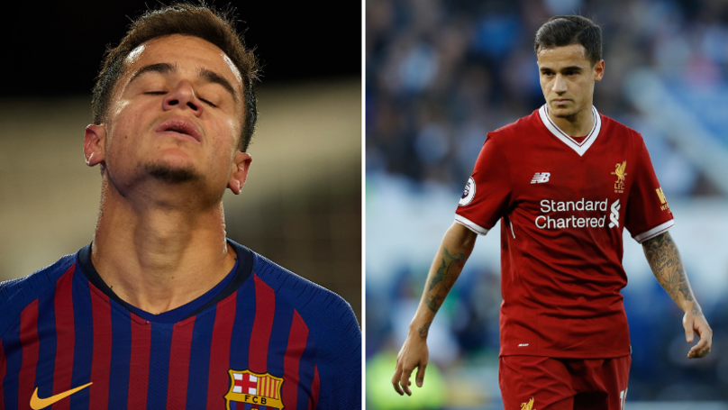 Liverpool Fans Tweet About Philippe Coutinho's Barcelona Career Backfired