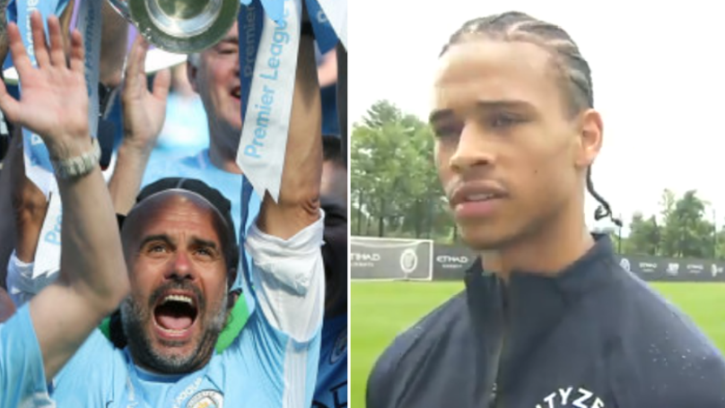 Leroy Sane Names The Team Who'll Be The Biggest Threat To Manchester City