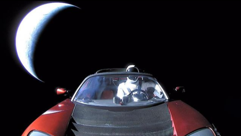 Astronomers Identify Elon Musk's Tesla Roadster Flying Through Space