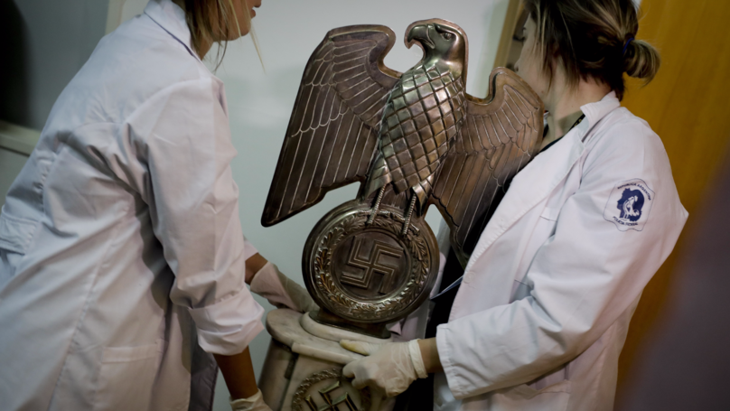 Mystery As Nazi Artefacts Are Found In Hidden Argentinian Treasure Room