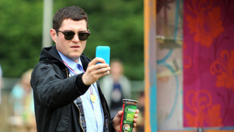 gavin and stacey star mathew horne cheats death after being hit by