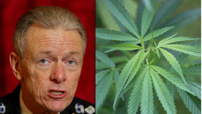 Former Police Chief Calls For 'Urgent Review' Into UK Cannabis Laws