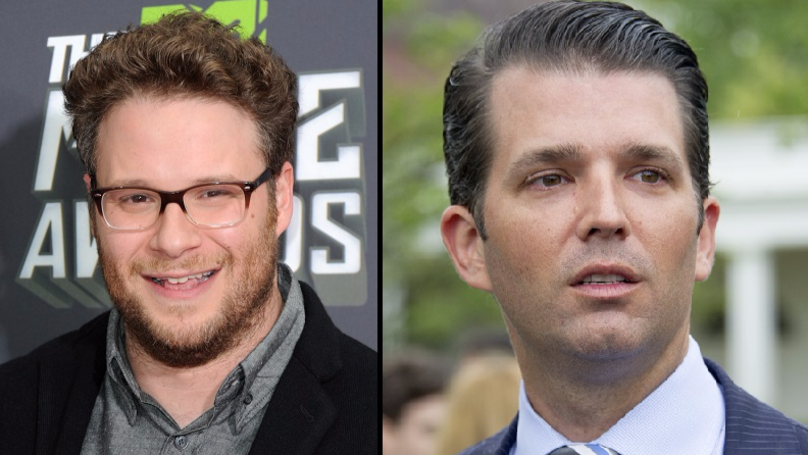 Seth Rogen Rips Donald Trump Jr On Twitter After Sliding Into His DMs