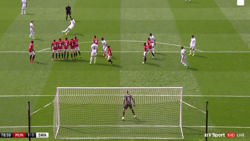 WATCH: Gylfi Sigurdsson Scores Perfect Free Kick For Swansea City