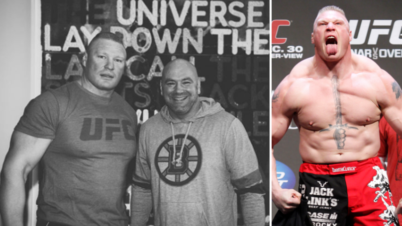 Dana White Confirms Chances Of A Brock Lesnar UFC Return