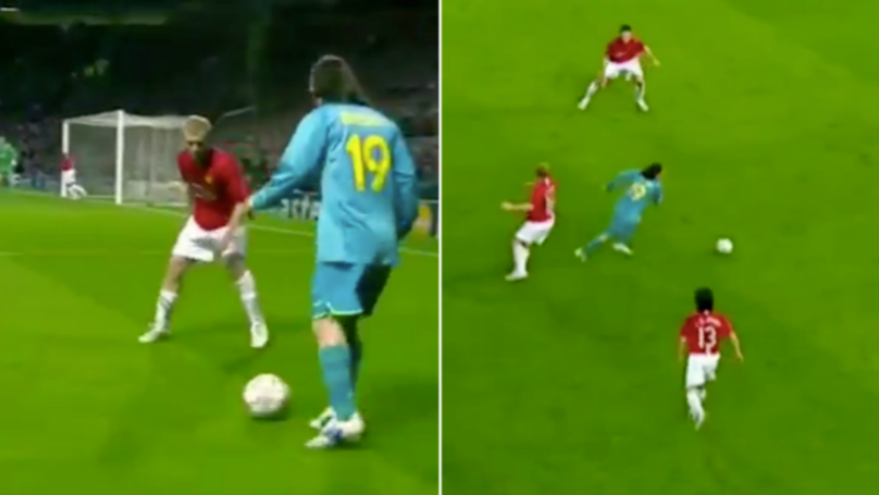 Lionel Messi's Highlights From The Last Time He Played At Old Trafford Are Stupidly Good