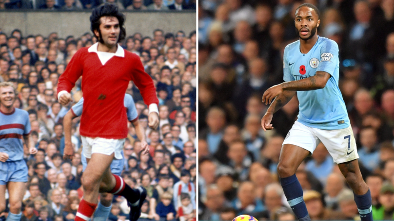 Raheem Sterling Is 'Reaching Towards The Level Of George Best'