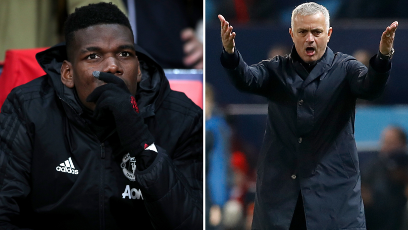 José Mourinho Texts Manchester United Officials To Say He's 'Tried Everything' With Paul Pogba