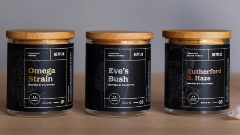 Netflix Has Released Its Own Weed Strains Named After Popular Shows