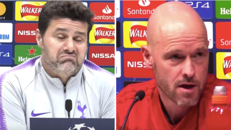 Ajax Manager Erik Ten Hag Gives Perfect Response To Mauricio Pochettino's 'Unfair' Comment