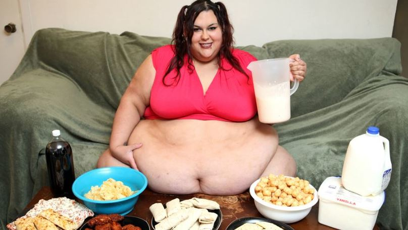 Fat girls that are eating congratulate, very
