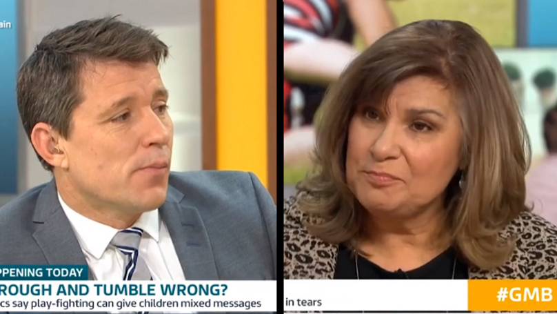 Behaviour Expert On 'Good Morning Britain' Argues That Kids Shouldn't Play-Fight
