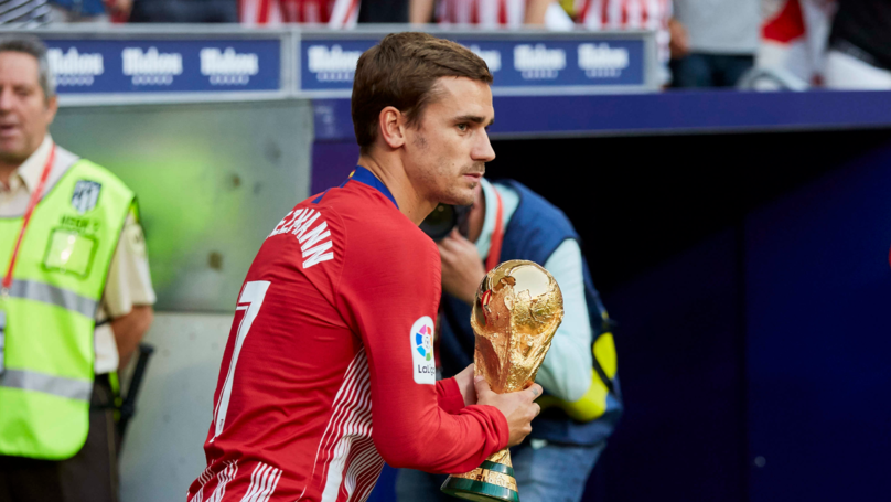Antoine Griezmann Reveals The Four Players He's Competing Against