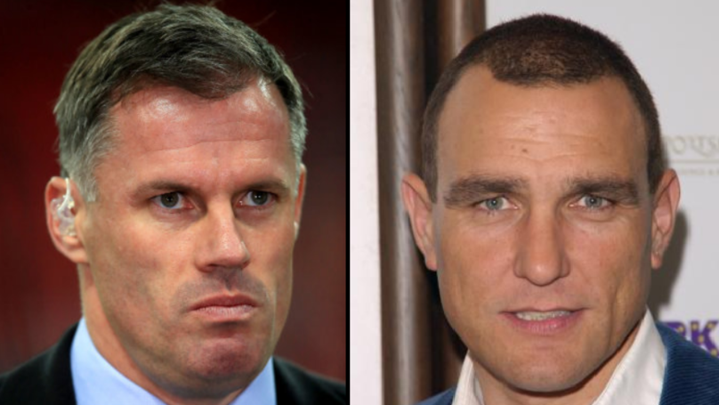 Vinnie Jones Slams 'Cowardly' Jamie Carragher After Spitting Incident