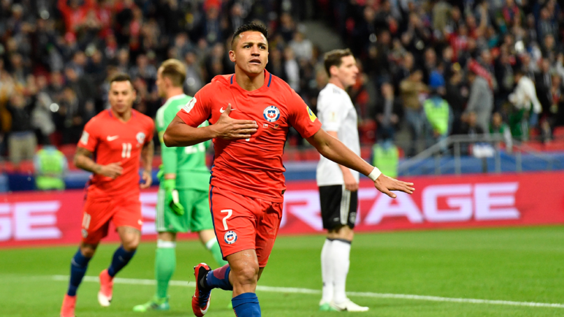 Alexis Sanchez Becomes Chile's Top Scorer After Germany Strike | SPORTbible