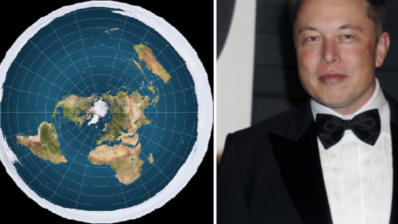 Elon Musk Savages The Flat Earth Debate In Tweets