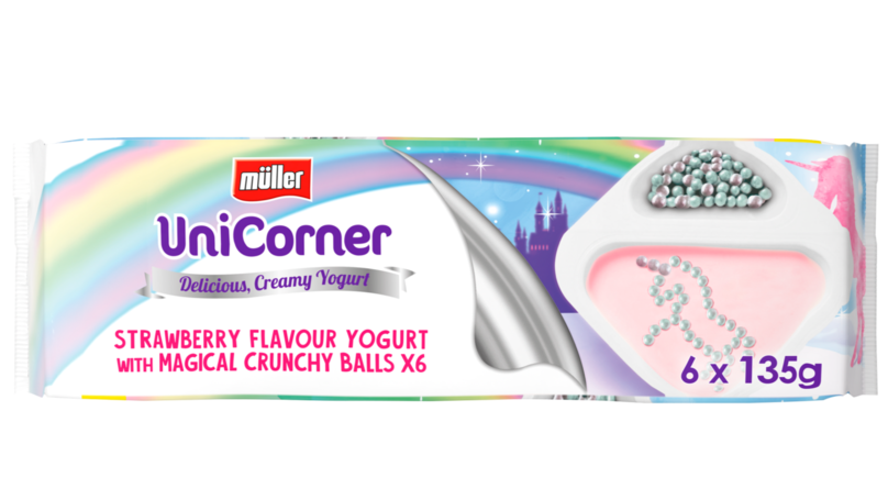 Muller Has Launched Unicorn-Inspired UniCorner Yoghurts And They Look Amazing