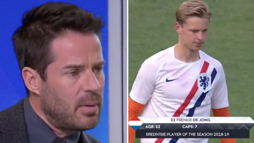 Jamie Redknapp Claims Frenkie De Jong Is The 'Best Midfielder In The World Right Now'