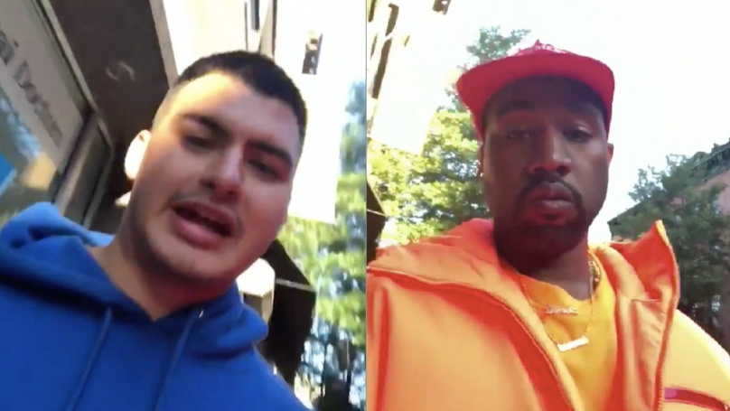 Kanye West Invites Homeless Rapper Into Studio After Hearing Him On Street