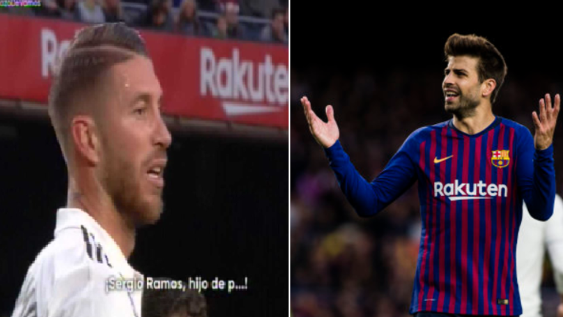 Barcelona Fans Chant Insult To Sergio Ramos, Gerard Pique Reacts Brilliantly