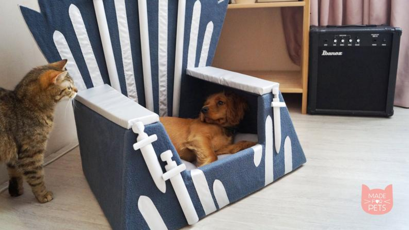 You Can Buy A 'Game Of Thrones' Chair For Your Pet - And It's Already In Our Basket