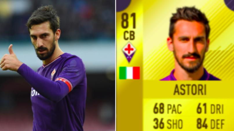 EA Sports Confirm Davide Astori Will Remain In FIFA 18