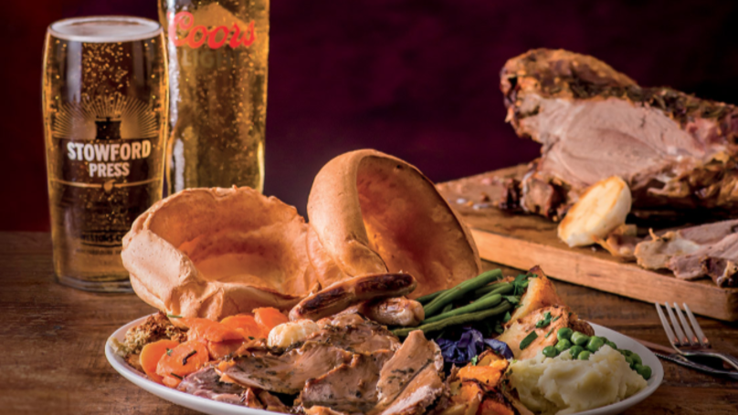 ​Toby Carvery Offering Free Roast Dinners To Dads On Father's Day