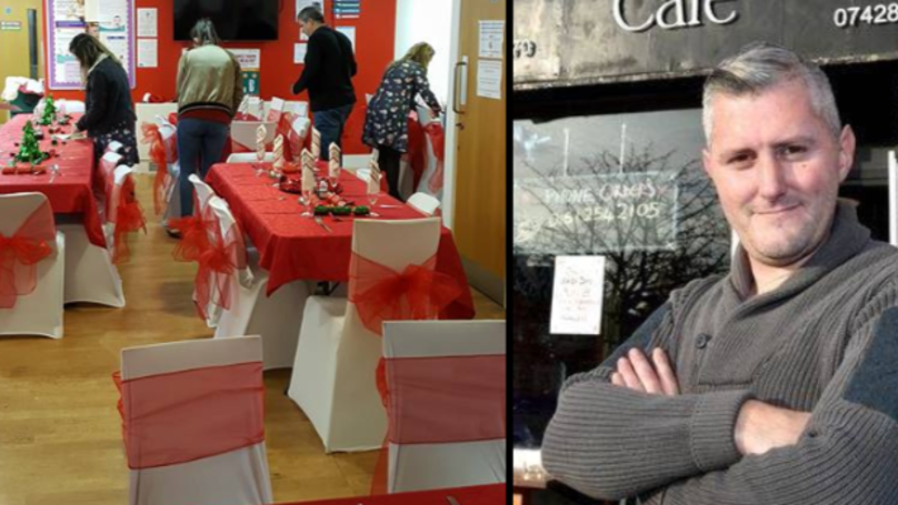 Former Homeless Man Is Putting On Christmas Dinner For 600 Lonely And Vulnerable People