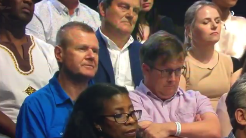 Audience Member At Live Questions Mutters 'That's Bollocks' And Promptly Goes Viral