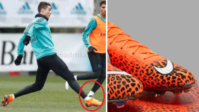77814b9eee79 Cristiano Ronaldo To Wear Special Edition Cheetah-Printed Nike Mercurial  Boots