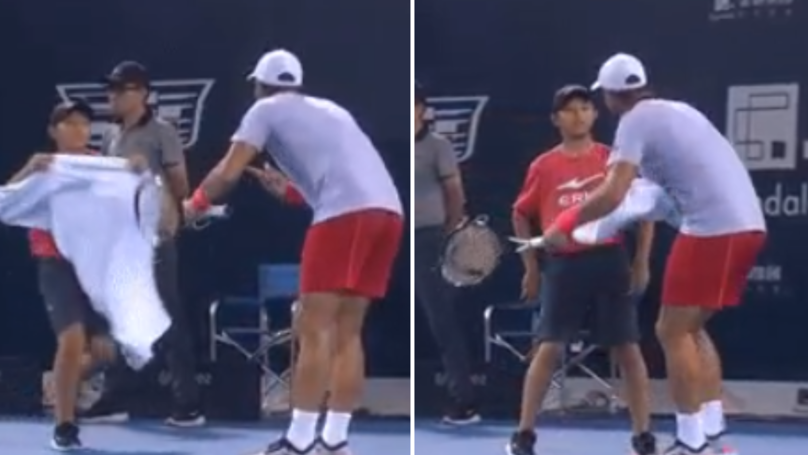 Fernando Verdasco Labelled 'Disgusting' For Treatment Of Young Tennis Ball Boy