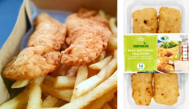 Morrisons Is Selling Beer Battered Halloumi And It's Perfect For A Chippy Tea