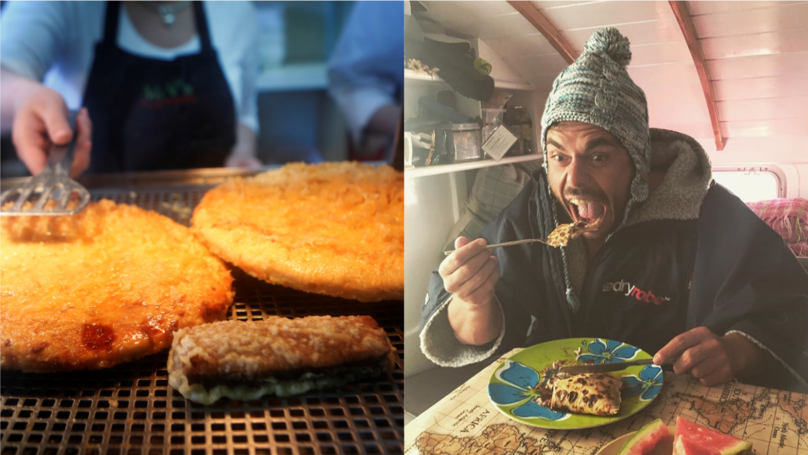 Ross Edgley Swam Around Great Britain Fuelled By Deep-Fried Pizza