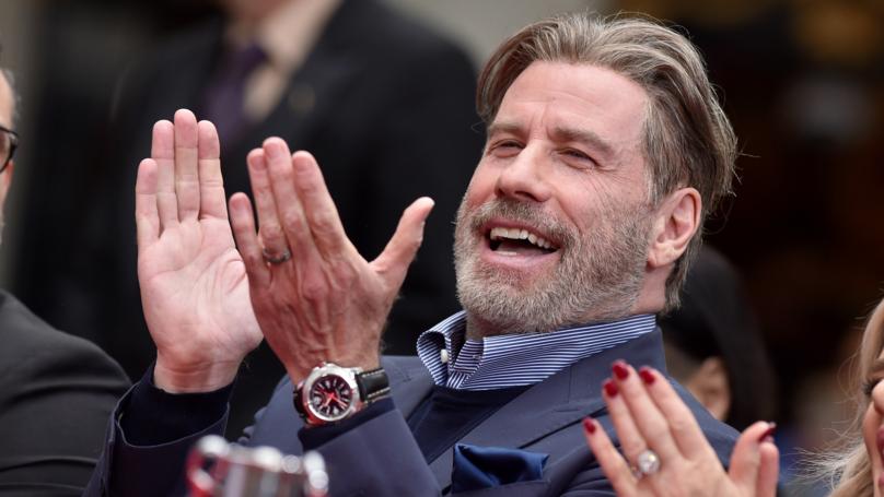 John Travolta Embraces Baldness In Instagram Post