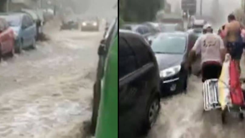 Brits Abroad Forced To Flee Flash Floods In Benidorm