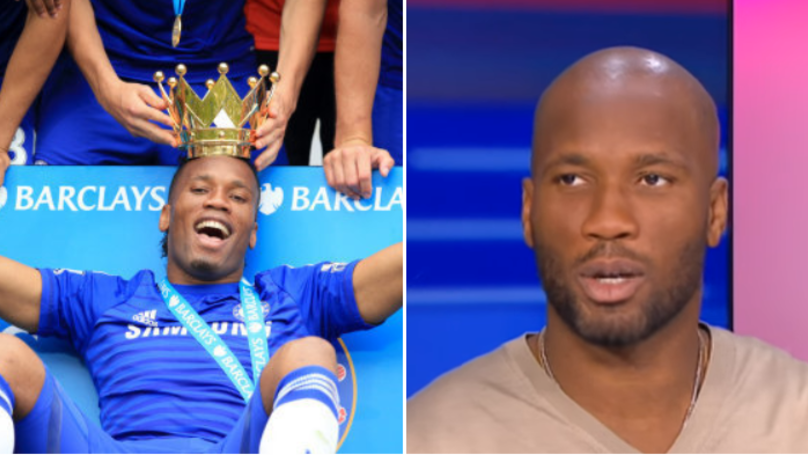 Didier Drogba Names His Favourite Chelsea Teammate During His Time At The Club