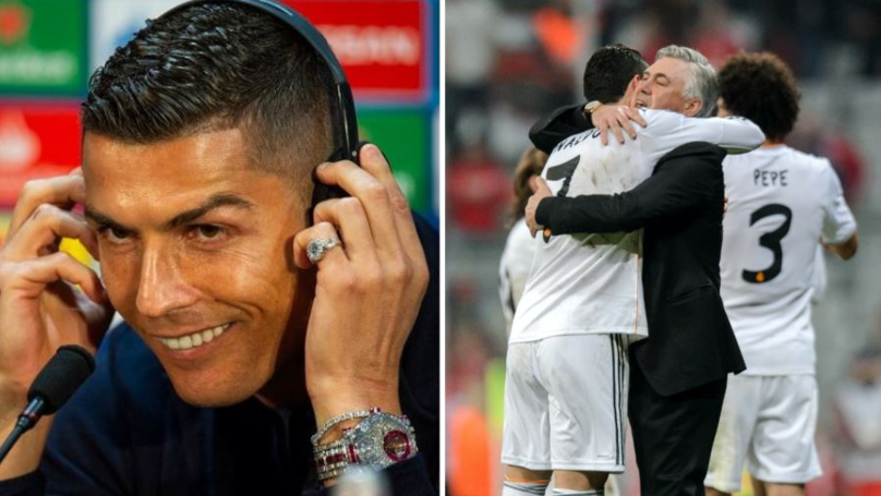 Cristiano Ronaldo 'Wasn't Comfortable As A Striker' When He First Played There
