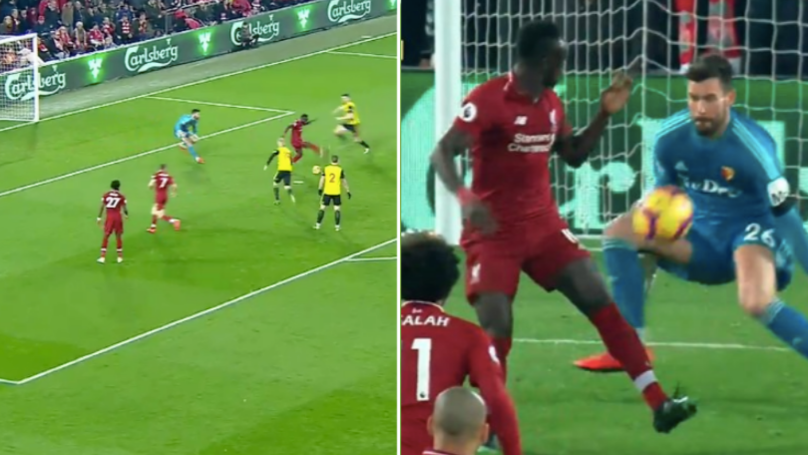 Sadio Mane Scores The Most Outrageous Backheel From 12 Yards