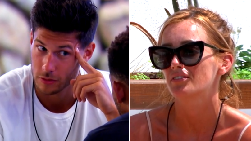 Love Island 2018: First Look Shows Jack Fowler's Head Turned Away From Laura Anderson