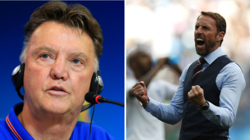 Gareth Southgate Could Take A Page Out Of Louis Van Gaal's Book Against Colombia