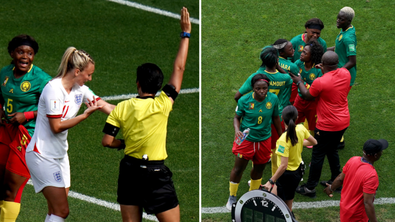 FIFA Secretary General Fatma Samoura Congratulates Cameroon Despite Controversial Loss To England