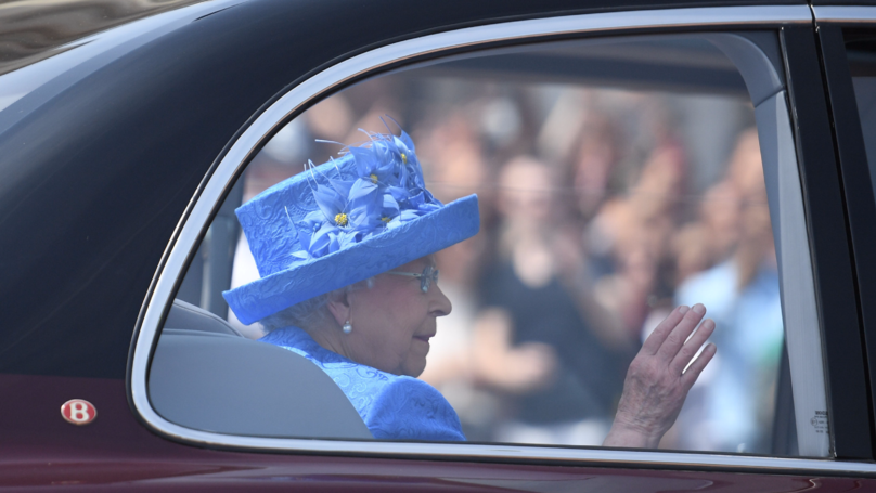The Queen Reported To Police For Breaking The Law On Way To Parliament | LADbible