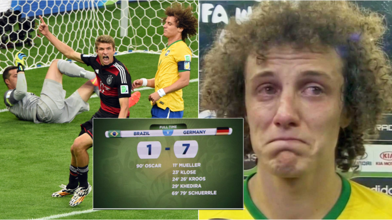 'Brazil 1 - 7 Germany' Voted The Greatest Moment In World Cup History