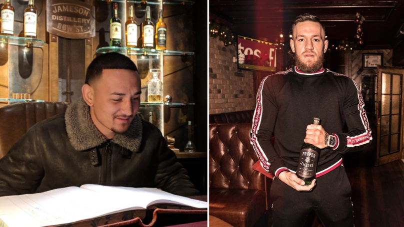 Max Holloway Visits Ireland And Brutally Trolls Conor McGregor