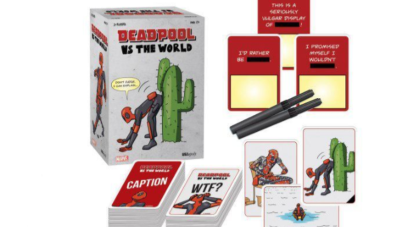 'Deadpool' Is Getting A Cards Against Humanity-Style Game