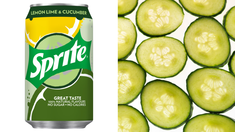 New Cucumber-Flavoured Sprite Sounds Like Summer In A Sip