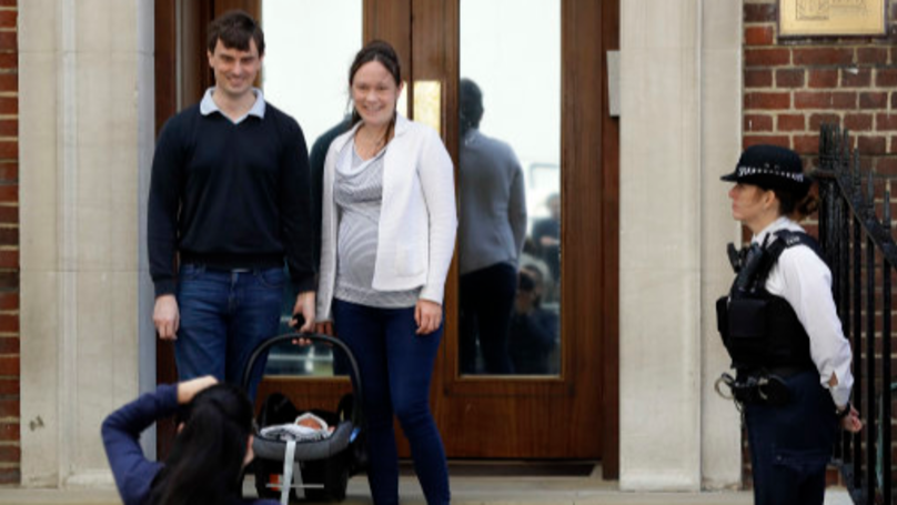 Royal Baby: Couple Have World's Media On Doorstep After Having Baby At Kate Middleton Hospital