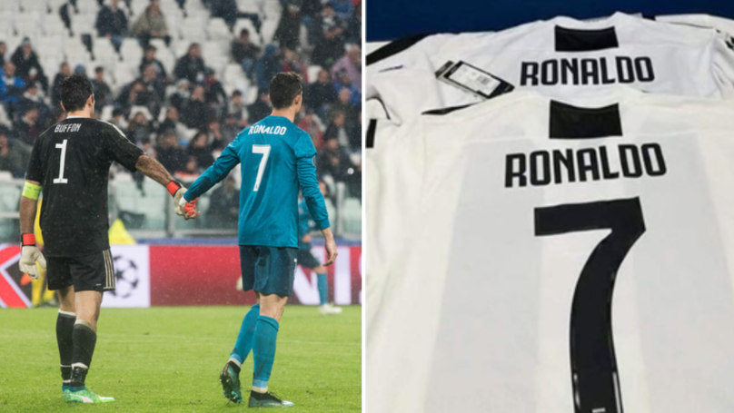 Gianluigi Buffon Has His Say On Cristiano Ronaldo's Rumoured Transfer To Juventus
